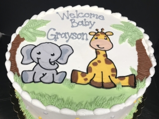 Kids Cakes Religious Adult Birthday Baby Shower
